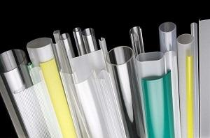 Plastic Profiles in Polycarbonate and PMMA Transparent, Opal and Satin material