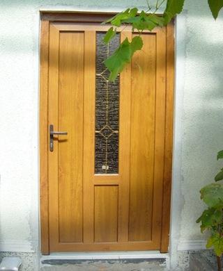 Exterior door.