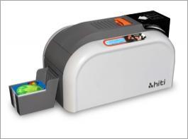 Faça seus crachás e cartões de identificação de sua empresa você mesmo. Excelente equipamento e de baixo custo de impressão. Cada cartão colorido se faz em menos de 10 segundos.