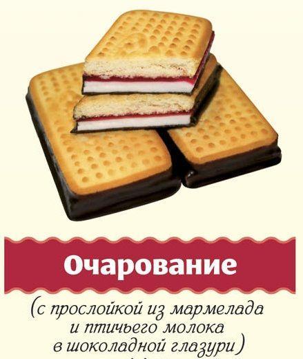 Комбинированное печенье