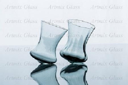 "Original glass called ""Sailor"". Available in plain design or with optical decoration."
