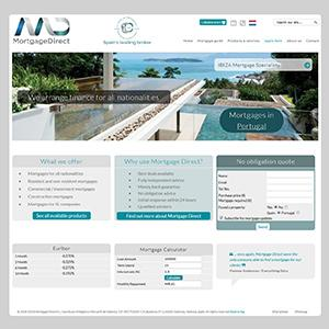 Spanish Mortgage Company Website - Design and Maintenance Support Services