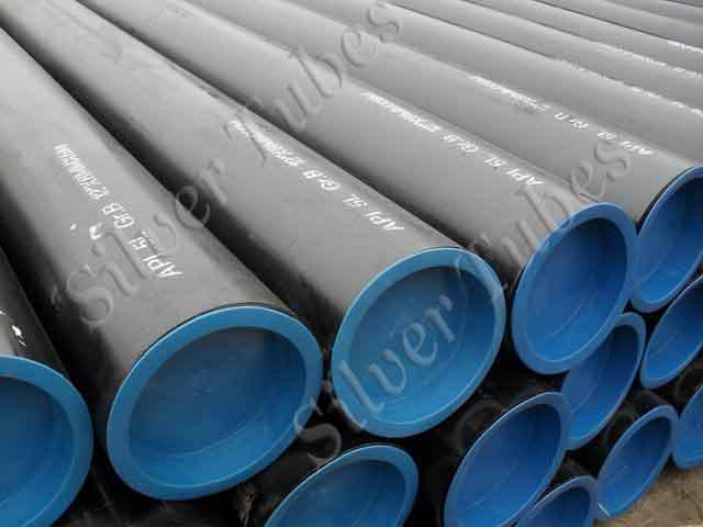 """Carbon Steel SAW pipe Stock hold at our warehouse ranging from 24"""" NB to 72"""" NB. LSAW, HSAW and Double submerged Arc Welded."""