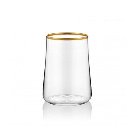 Gold Gilded Water Glass