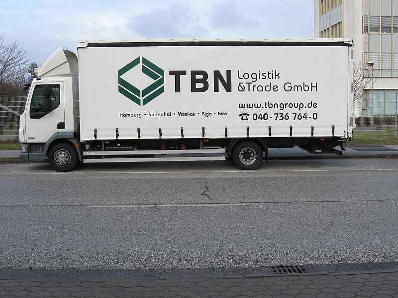 Schnell und effizient. TBN liefert und holt Ihre Sendungen nicht nur aus dem Umland!