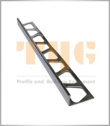 Anodized Aluminium profile for floors