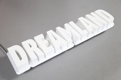 Styrodur 3D Schriftzug