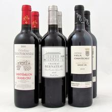 A precious selection of three different Saint-Emilion Grand Cru wines of maybe the best vintage 2010 ever. These fine wines are from chateau Bernateau, Vieux Chantecaille and Tour Peyronneau. Enjoy!