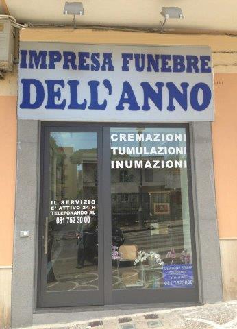 Impresa Funebre Dell'Anno, gli uffici della sede di Portici.