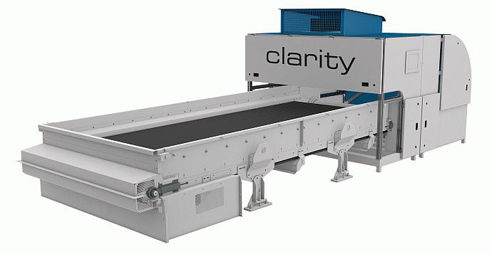 Die CLARITY Bandsortiermaschine bietet eine Trennung von Papier, MSW und RDF nach Material und Farbe, sowie eine zusätzliche Störstoffabscheidung.