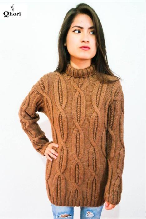 Sweater en alpaca