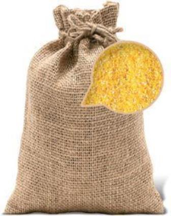 Maize groat