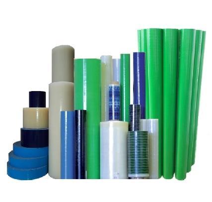 Nos films de protection de surface préservent vos produits de tous les types d'abrasion, rayures et salissures, du process de production au stockage du produit fini.