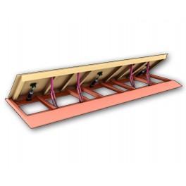 Produkt Szerokość 2500 mm do 7000 mm Wysokość 500 mm Długość 1100 mm produkt Napęd hydrauliczny lub elektromechaniczne