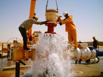 wellhead deep drilling