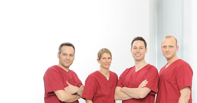 Ärzteteam von MED:SMILE in Mannheim