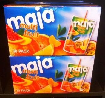 Maja multi fruit juice