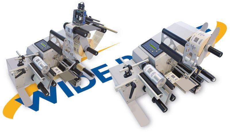 Gamma DWR ROUND, etichettatrici semiautomatiche per prodotti cilindrici