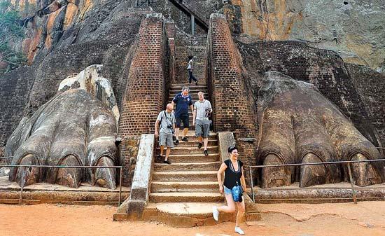 UNESCO world heritage Sigiriya Lion Rock Fortress