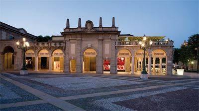 La boutique si trova nel cuore di Bergamo città