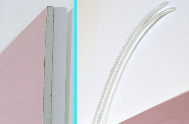 Pannelli radianti in cartongesso per impianti a soffitto e parete.