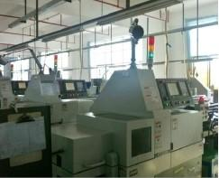 High Precision CNC Turning Machine. 5 Axis, Import from Japan. Tolerance can achieve +/-0.003mm.