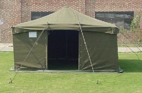 4x4m Double Fold Military Tent