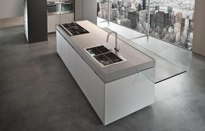 Il meglio delle cucine italiane. Design, modernità, tecnologia ed eleganza in pochi metri.