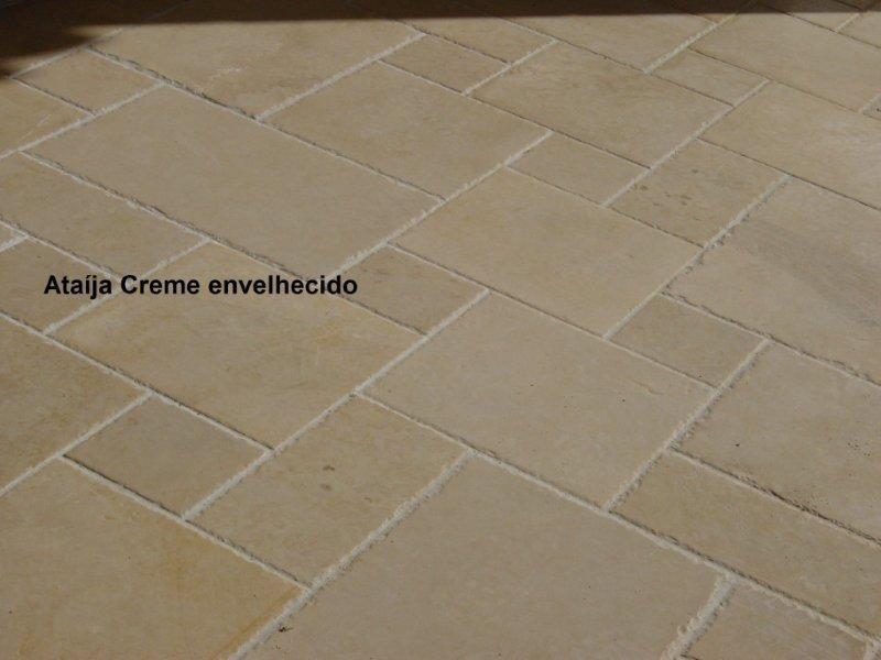 Ataija Crema ,material tanto para interior como exterior ,distintos acabados y textuaras a elegir