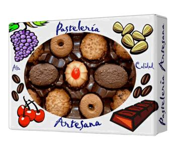 Cookies, first quality. Made in Spain We work non-fat, non-alcoholic products. More information: www.foodexports.eu