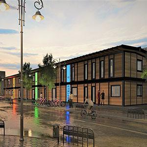 Agilcare - bâtiment centre ville