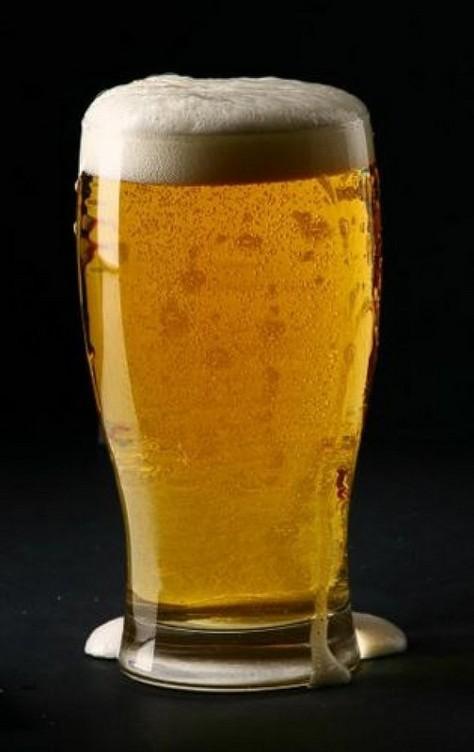 Bicchiere da birra tulip 0,4 cl - 61 cl raso bocca.