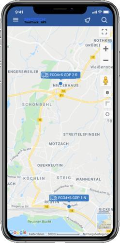 Wir bieten Apps für iOS & Android