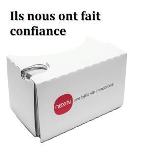 Nexity a eu recours à la réalité virtuelle afin d'inaugurer sa première agence immobilière connectée à Paris. Vous aussi, enfilez vos Cardboard-Kit et visitez les appartements de votre choix !