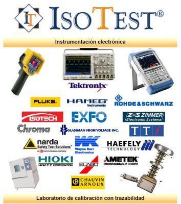 ISOTEST Instrumentación electrónica y Laboratorio de calibración, distribución de marcas como FLUKE, TEKTRONIX, ISOTECH, KELLER, AMETEK, ALLWIN