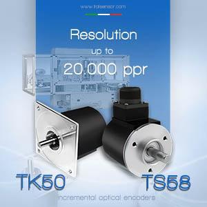 Incremental optical encoders TK50/TS58