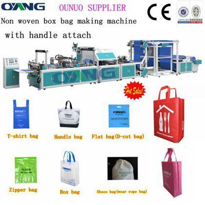 ONL-XB700machine de sac non-tissé avec anses collé en automatique