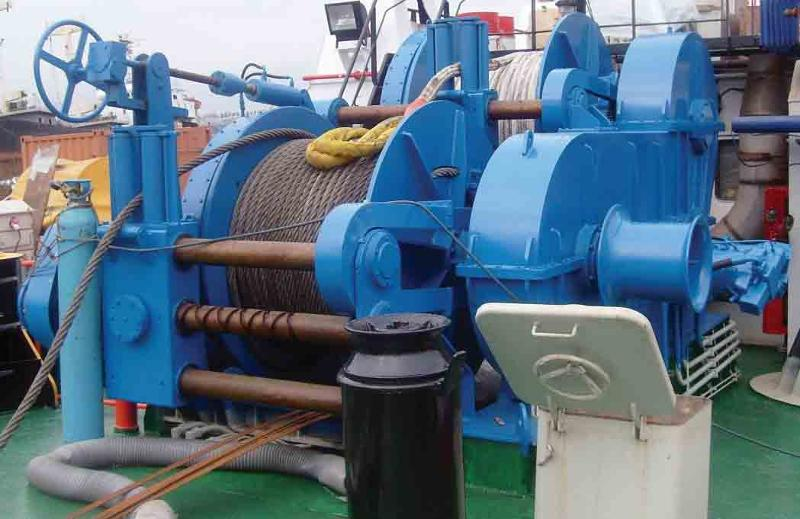 Towing Winch Waterfall Type
