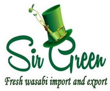SirGreenWasabi import and export of fresh grown sawa Wasabi throughout Europe as well as to Dubai, Japan, UK, USA and Canada