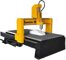 Foamlinx CNC Router for machining and creating 3D foam projects