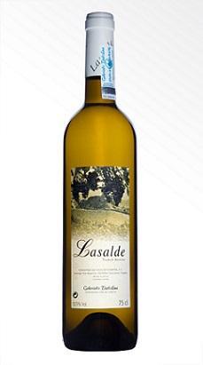 Txakoli Lasalde es un txakoli GOURMET con Denominación de origen de Getaria (D.O.).