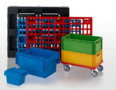 Plastic pallets & containers