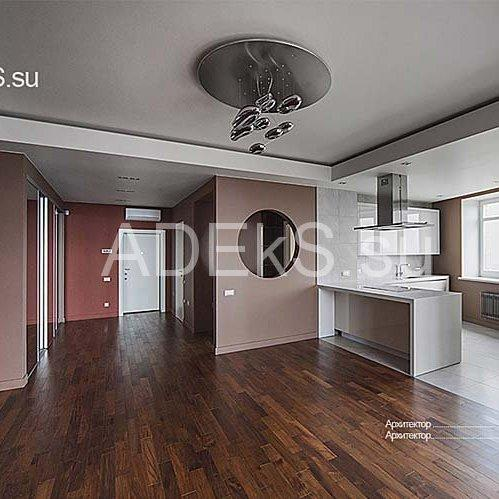 Design and full renovation of apartments in Moscow.