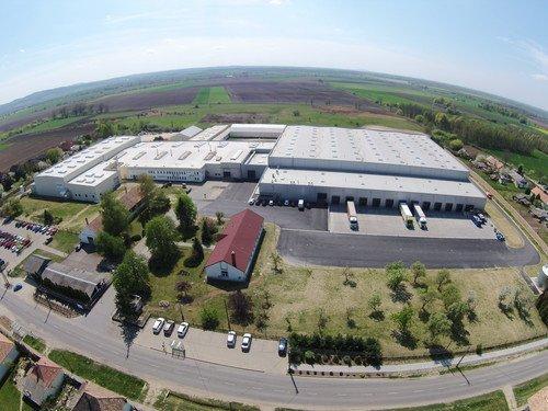 Produktionswerk Csót in Ungarn