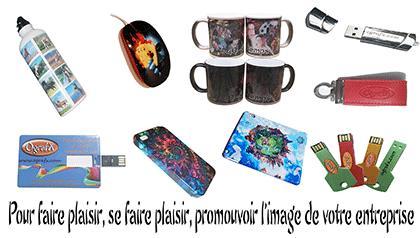Spécialiste de la communication par l'objet : objets promotionnels, produits dérivé, cadeaux d'affaires, souvenirs ...