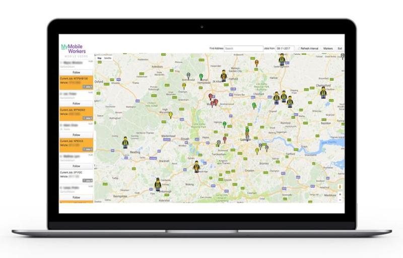 GPS Tracking | MyMobileWorkers