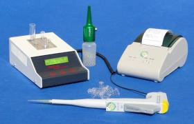 Designed for small sample appearances in a laboratory, this handy and user-friendly analysis device is also used in research and veterinary diagnostics.
