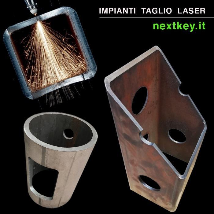 Vendita impianti taglio laser tubo