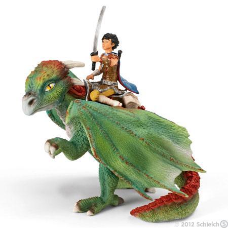 Dragones y personajes de ficcion para los mas atrevidos de la casa.