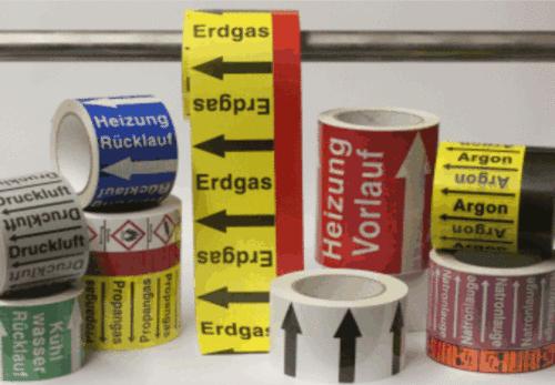 Kennzeichnungsbänder